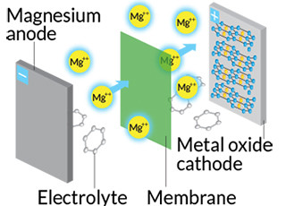 Tin enables first magnesium battery to run at room temperature