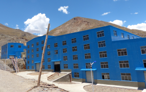 Huanuni processing plant
