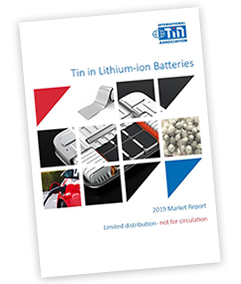 Tin in Lithium-ion Batteries
